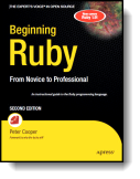 Book cover for 'Beginning Ruby'