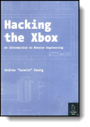 Book cover for 'Hacking the Xbox'