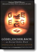 Book cover for 'Gödel, Escher, Bach'