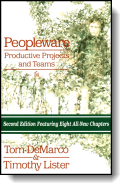 Book cover for 'Peopleware: Productive Projects and Teams'