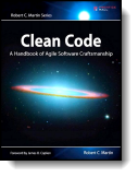 Book cover for 'Clean Code'