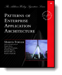 Book cover for 'Patterns of Enterprise Application Architecture'