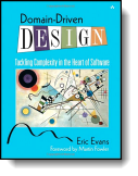 Book cover for 'Domain-Driven Design'