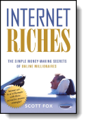 Book cover for 'Internet Riches'