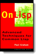 Book cover for 'On LISP'