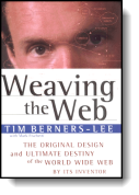 Book cover for 'Weaving the Web'