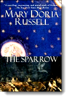 Book cover for 'The Sparrow'