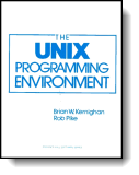 Book cover for 'Unix Programming Environment'