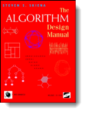 Book cover for 'The Algorithm Design Manual'