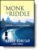 Book cover for 'The Monk and the Riddle'