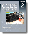Book cover for 'Code Complete'