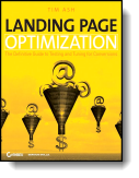Book cover for 'Landing Page Optimization'