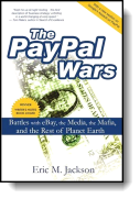 Book cover for 'The PayPal Wars'