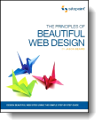 Book cover for 'The Principles of Beautiful Web Design'