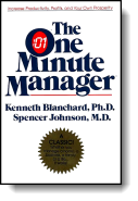 Book cover for 'The One Minute Manager'