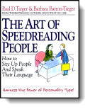 Book cover for 'The Art of Speedreading People'
