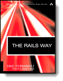 Book cover for 'The Rails 3 Way'