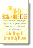 Book cover for 'The Only Sustainable Edge'