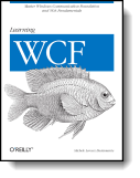 Book cover for 'Learning WCF'