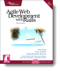 Book cover for 'Agile Web Development with Rails'