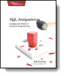 Book cover for 'SQL Antipatterns'
