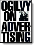 Book cover for 'Ogilvy on Advertising'