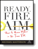 Book cover for 'Ready, Fire, Aim'