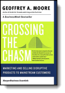 Book cover for 'Crossing the Chasm'