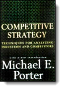 Book cover for 'Competitive Strategy'