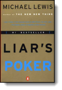 Book cover for 'Liar's Poker'