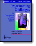 Book cover for 'Programming Challenges'