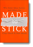 Book cover for 'Made to Stick'
