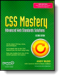 Book cover for 'CSS Mastery'