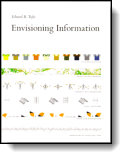 Book cover for 'Envisioning Information'