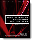 Book cover for 'Service-Oriented Design with Ruby and Rails'
