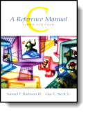Book cover for 'C: A Reference Manual'