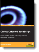 Book cover for 'Object-Oriented JavaScript'