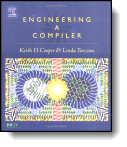 Book cover for 'Engineering a Compiler'
