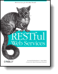 Book cover for 'Restful Web Services'