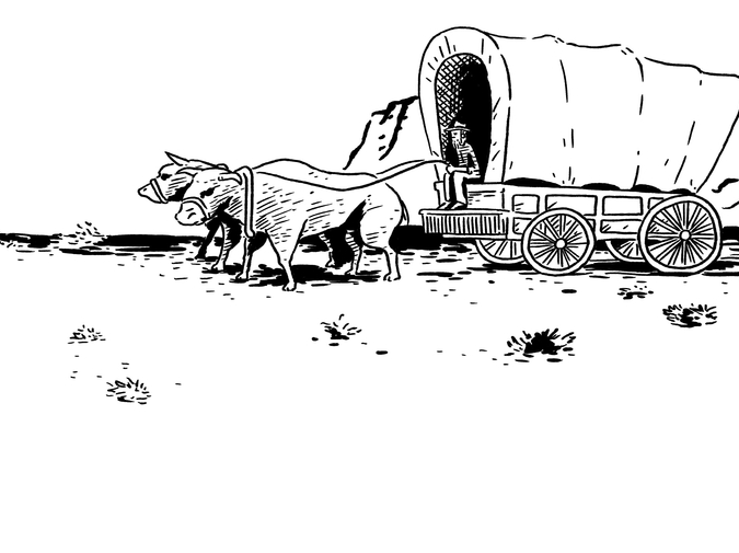 Games of My Youth: Oregon Trail's End photo