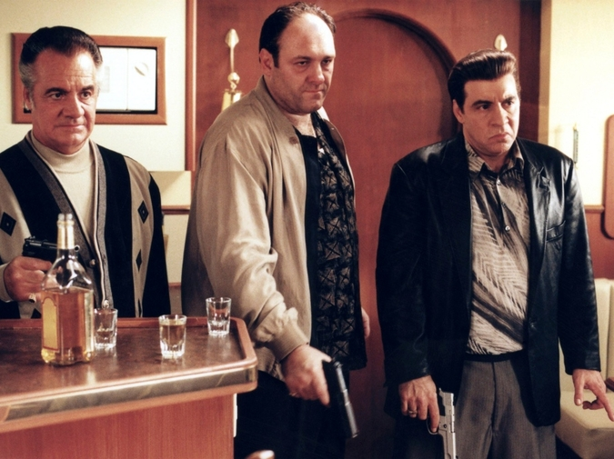 Plotlines from TV'sThe SopranosRe-Interpreted by Lydia Davis photo