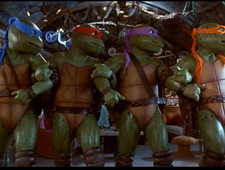 Ninja Turtles / Interstellar / Guardians of the Galaxy / Birdman photo