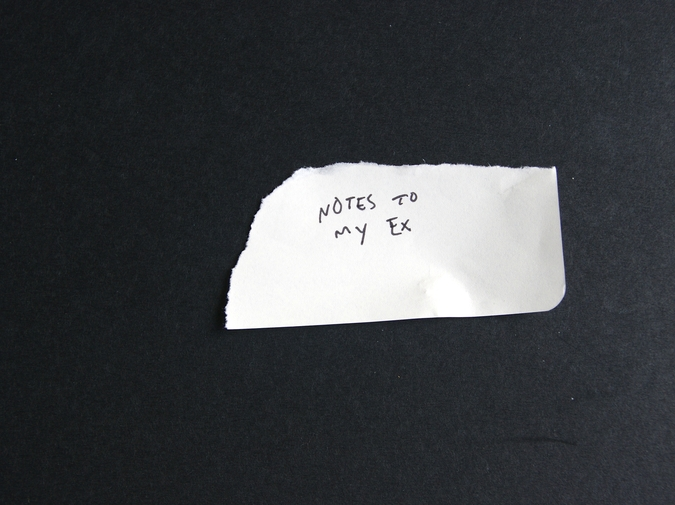 Notes to My Ex photo