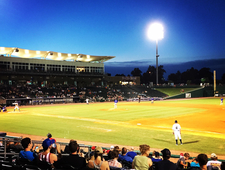 Another evening down at the ballpark photo