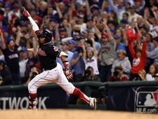 He Felt the Crowd Beating in His Heart: Rajai Davis & Game 7 of the 2016 World Series photo