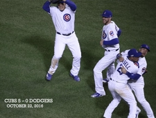 The Big Inning: Game 95 // Ninth Inning, Chicago // The Cubbies Win the Pennant photo