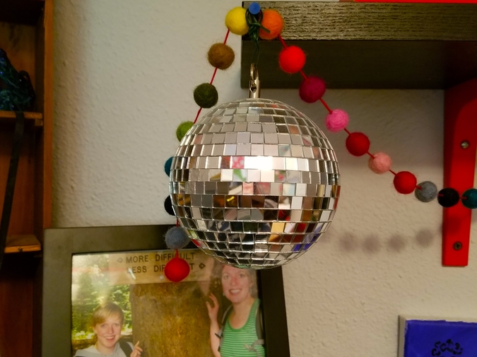Things in my Room: Mirror Ball photo