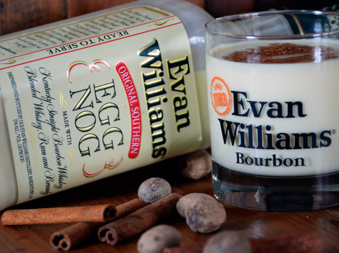 No Bull Bourbon: Evan Williams Egg Nog photo
