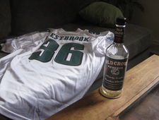 A Recap of the Philadelphia Eagles at the Cleveland Browns In the Form of a Review of Old Crow Reserve Bourbon photo