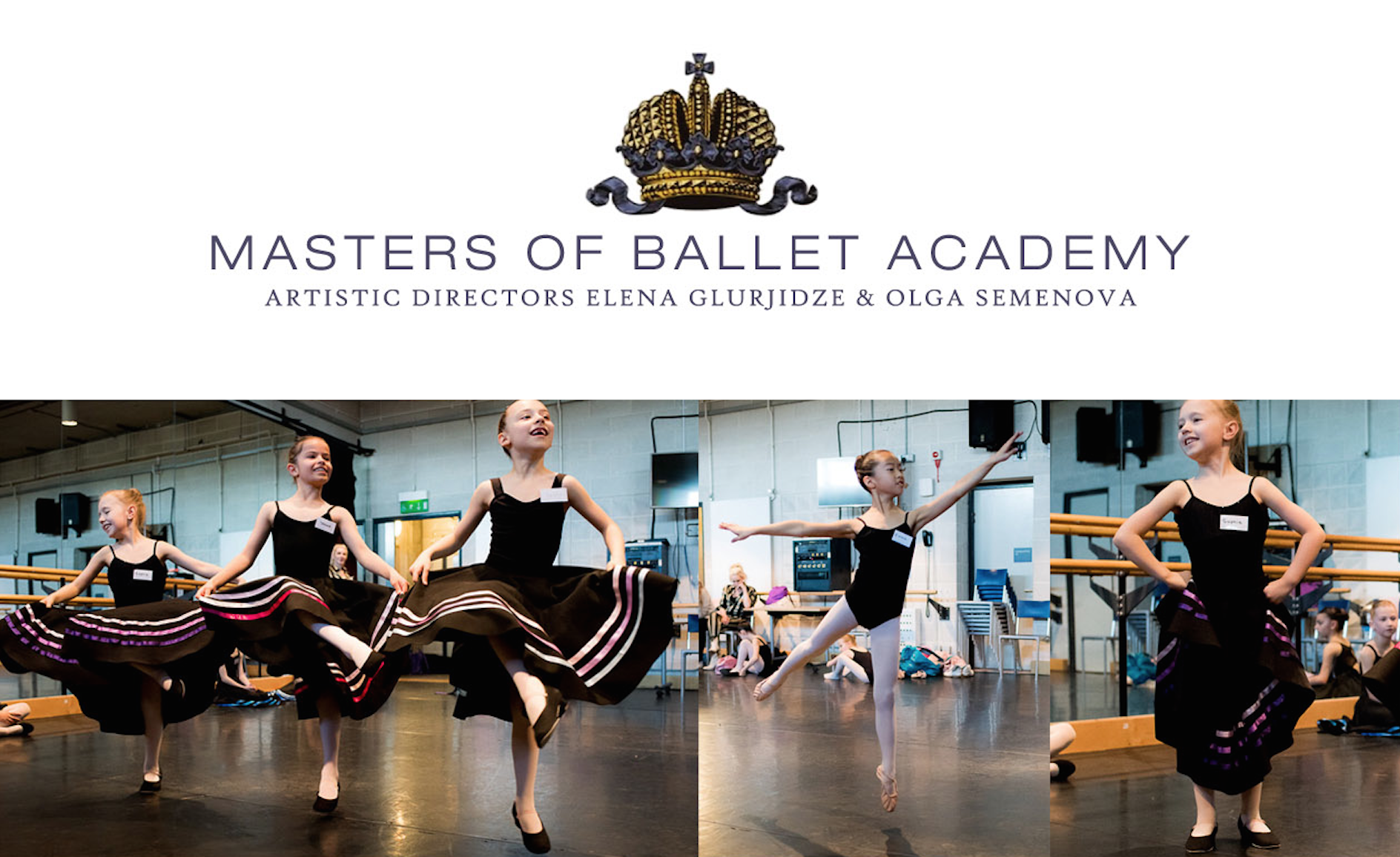 Masters of ballet logo